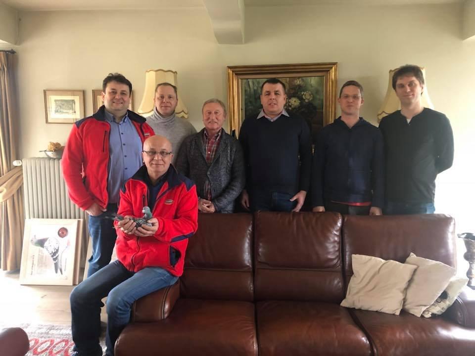 Marzec 2018 wizyta u wybitnych hodowców z Belgii i Holandii