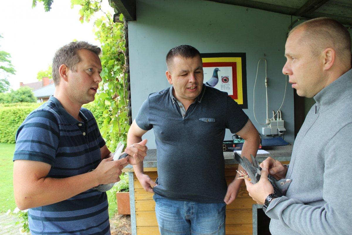 Wizyta w Belgii u Karlo van Rompaey